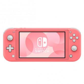 Игровая консоль Nintendo Switch Lite в кораллово-розовом по самой выгодной цене