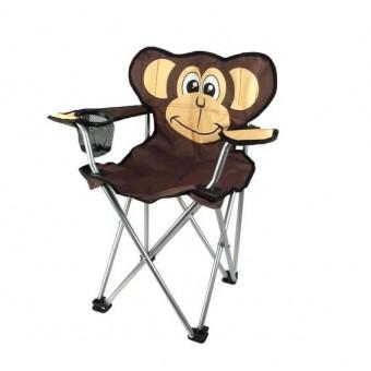 Детские кемпинговые стулья для природы с забавными зверушками