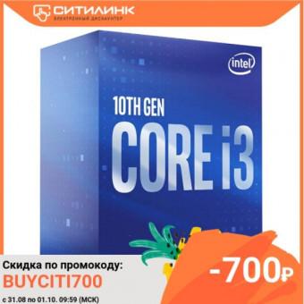 Процессор INTEL Core i3 10100F BOX по самой низкой цене