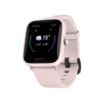 Умные часы Amazfit Bip U Pro в розовом цвете со скидкой