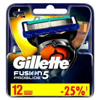 Сменные кассеты Gillette Fusion5 ProGlide по лучшей цене