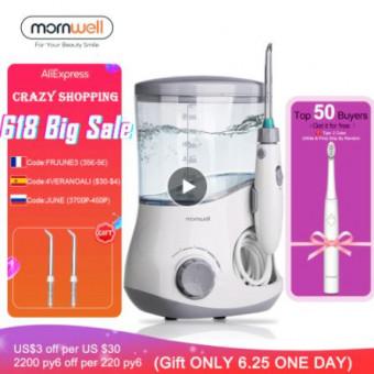 Ирригатор Mornwell D51 + электрическая зубная щётка D01B+ по крутой цене