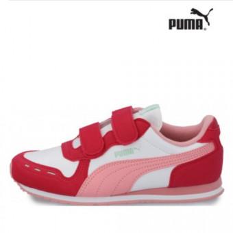 Кроссовки для девочек Puma Cabana Racer Sl V Ps по отличной цене