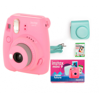 Фотоаппарат моментальной печати Fujifilm Instax Mini 9  с аксессуарами