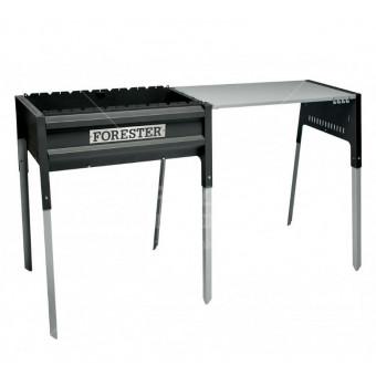 Стальной мангал Forester Термо BQ-702 со столом 65х36 см
