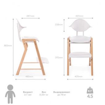 Растущий стул для кормления Happy Baby