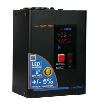 Стабилизатор напряжения однофазный Энергия Voltron 1500 (5%) по лучшей цене