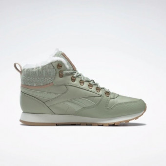Тёплые женские ботинки REEBOK CLASSIC LEATHER ARCTIC по отличной цене