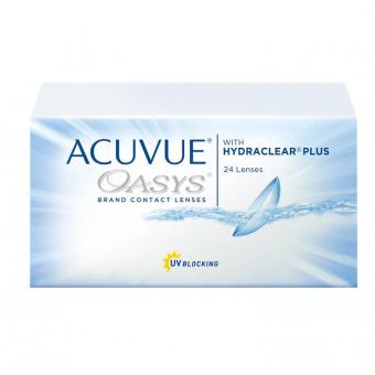 Контактные линзы Acuvue OASYS with Hydraclear Plus (24 линзы), R 8,4, D -3,25 по интересной цене