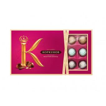 Набор конфет Коркунов Ассорти молочный шоколад 192 г за полцены