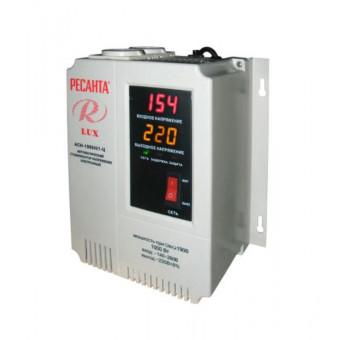 Стабилизатор напряжения однофазный РЕСАНТА LUX АСН-1000Н/1-Ц (1 кВт) по отличной цене