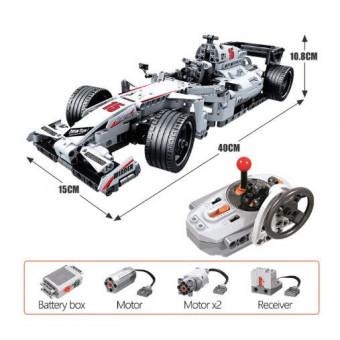 Конструктор ERBO Formula F1 на пульте управления