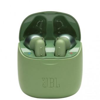 Беспроводные наушники JBL Tune 220 TWS в зелёном цвете по отличной цене