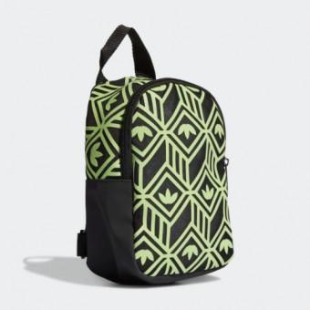 Женский рюкзак MINI в зелёном цвете по скидке