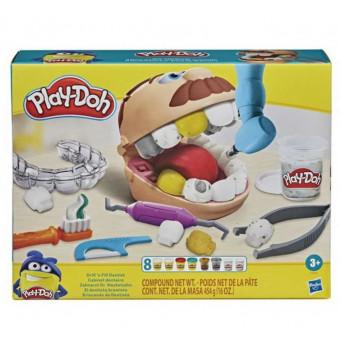 Набор для лепки Play-Doh Мистер Зубастик с золотыми зубами F12595L0 по низкой цене