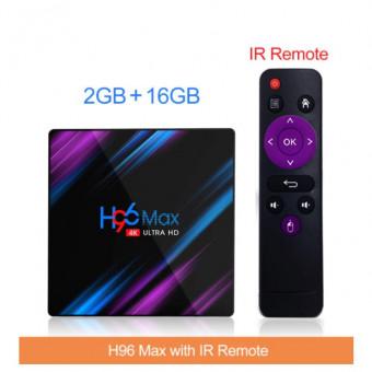 Смарт ТВ-приставка H96 MAX RK3318 по выгодной цене