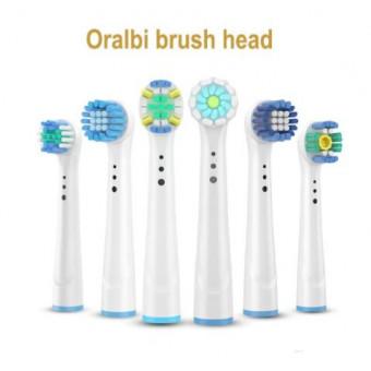 Сменные головки для электрической зубной щётки Oral B. 3 комплекта по 4 головки по лучшей цене