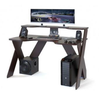 Стол игровой СОКОЛ КСТ-117, ЛДСП, венге по выгодной цене
