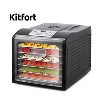 На AliExpress Tmall сушилка для овощей и фруктов Kitfort KT-1906 по отличной цене