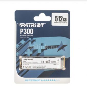 SSD накопитель PATRIOT P300 P300P512GM28 512ГБ по хорошей цене