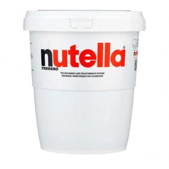 Ореховая паста Nutella с добавлением какао в ведёрке весом 3 кг