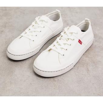 Белые  мужские кеды Levi's по отличной цене