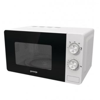 Небольшая микроволновая печь соло Gorenje MO17E1W по низкой цене