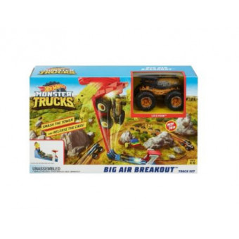 Трек Hot Wheels Monster Trucks Big Air Breakout GCG00
