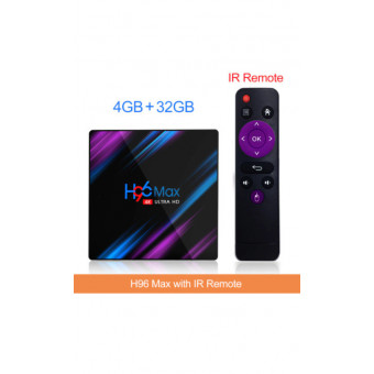 ТВ-приставка H96 MAX RK3318 4/32 по интересной цене