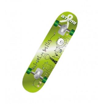 Детский скейтборд ATEMI ASB24D01 24x6, зелeный по классной цене