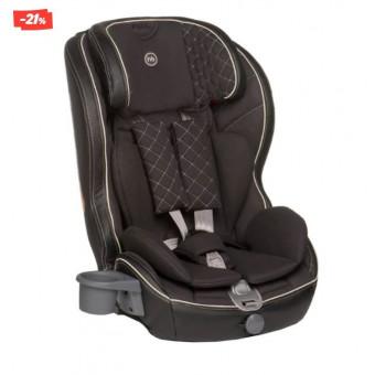 Автокресло группа 1/2/3 (9-36 кг) Happy Baby Mustang Isofix, black по крутой цене