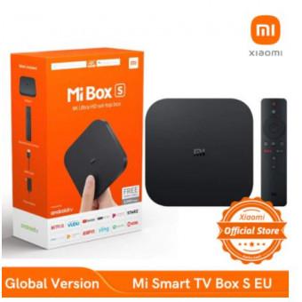 ТВ-приставка Xiaomi Mi Smart TV Box S глобальная версия со скидкой