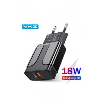 Зарядное устройство YKZ QC3.0 18Вт по хорошей цене