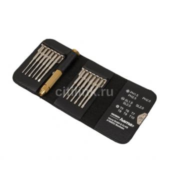 Набор отверточный HAMA MiniScrew 13 предметов со скидкой 84%