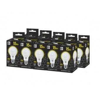 Светодиодные лампы с цоколем E27 10 шт 15Вт по крутой цене