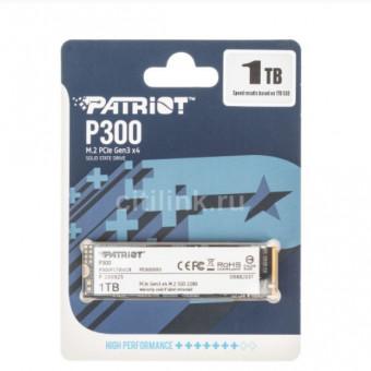 SSD накопитель PATRIOT P300 P300P1TBM28 1ТБ по хорошей цене