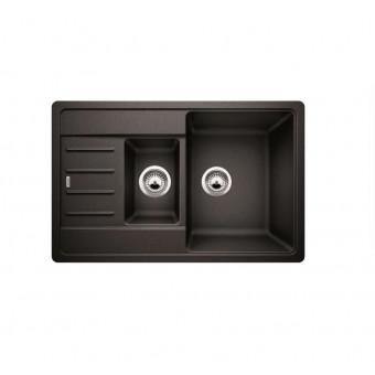 Врезная кухонная мойка 78 см Blanco Legra 6S Compact антрацит