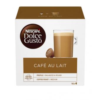 Кофе в капсулах Nescafe Dolce Gusto Cafe Au Lait, 16 капс. по самой низкой цене