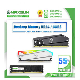 Оперативная память Maxsun 2 по 16Гб 2666Мгц на Aliexpress