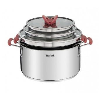 Набор качественной посуды Tefal Opti'Space 6 предметов (G720S674) по хорошей цене