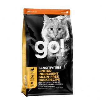 Подборка кормов для кошек по хорошим ценам, например, GO! Sensitivities Limited Ingredient, с уткой 7.26 кг