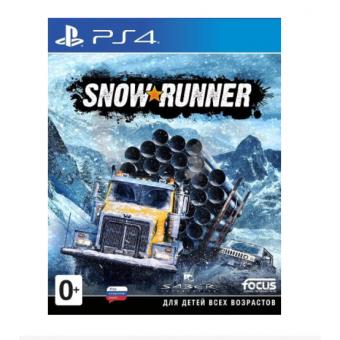 Игра SnowRunner для PlayStation 4 по самой низкой цене