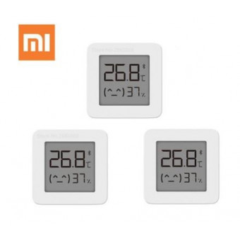 3 штуки XIAOMI Mijia Bluetooth Smart гигрометр-термометр