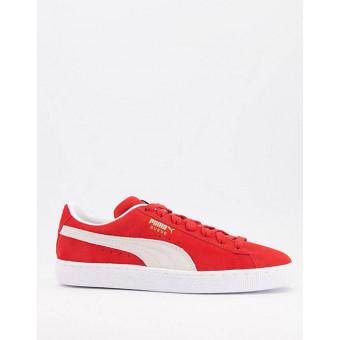 Классические красные замшевые кеды Puma по классной цене