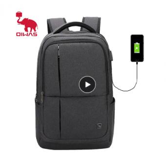 Рюкзак для ноутбука с USB зарядкой Oiwas по отличной цене