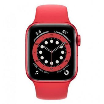 Смарт-часы Apple Watch Series 6 40мм, красный по суперцене!