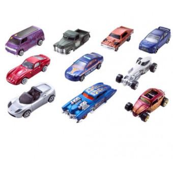 Набор из 10 машин Hot Wheels 54886 по низкой цене