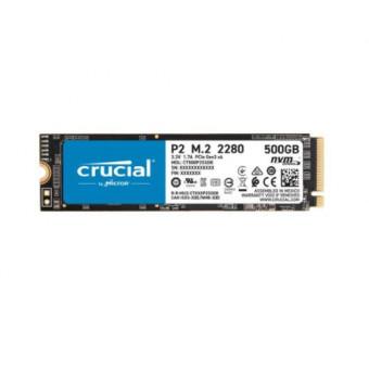 SSD накопитель CRUCIAL P2 CT500P2SSD8 500ГБ по лучшей цене
