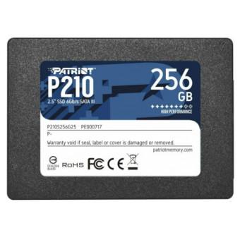 Твердотельный накопитель Patriot Memory 256 GB P210S256G25 по отличной цене