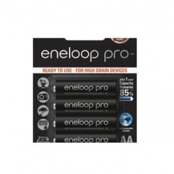 Аккумуляторы типа AA Panasonic Eneloop pro по самой низкой цене